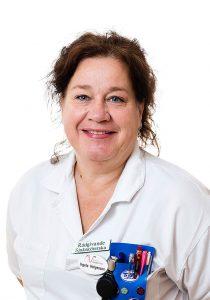 Ingela Helgesson, Sjuksköterska på Aneby Vårdcentral