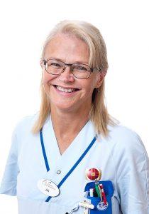 Jill Rehnby, Distriktssköterska på Aneby Vårdcentral