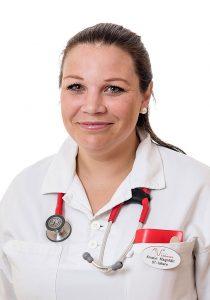 Kristin Magnfält, ST-läkare på Aneby Vårdcentral