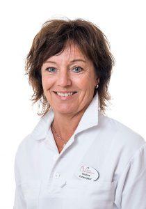Kristina Rydholm, Fotvårdsterapeut på Aneby Vårdcentral