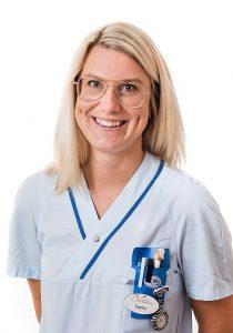 Sophie Arvidsson, Sjuksköterska på Aneby Vårdcentral